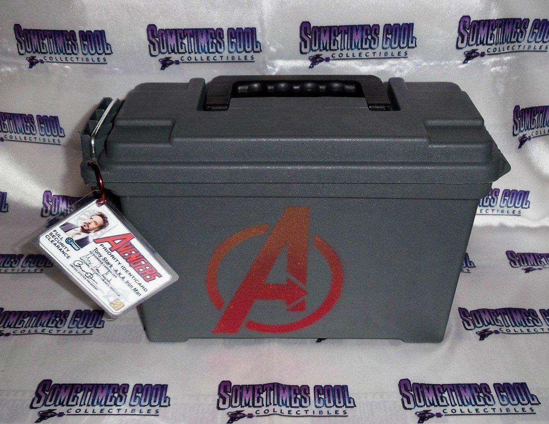 Ammo Box Customized - Avengers logo