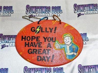 Fallout Vault Boy Sign