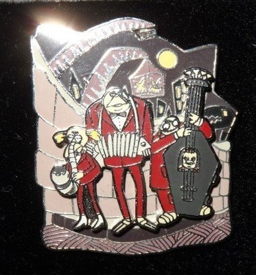 Nightmare Before Christmas Pin - THE BAND