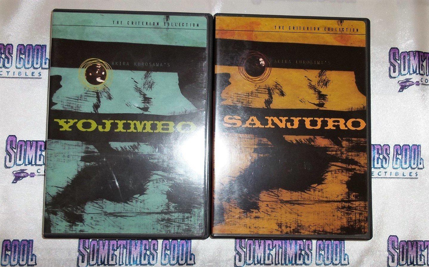 Yojimbo & Sanjuro - The Criterion Collection : DVD