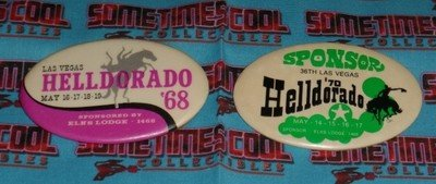 Helldorado Buttons Two Pack
