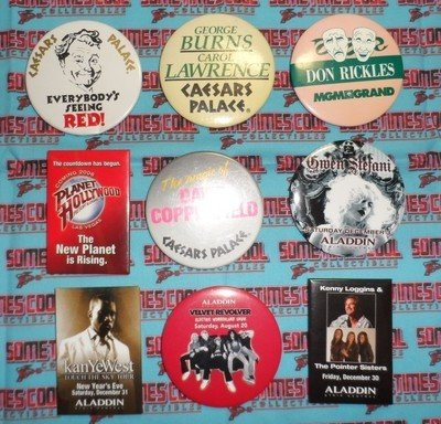 Entertainers Button Collection