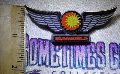 Sunworld Airlines Wings Pin