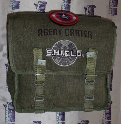 Agent Carter Military Tote Bag