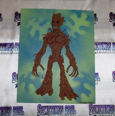 Groot (from Guardians of the Galaxy) Painting