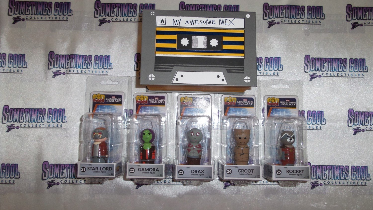 Guardians of the Galaxy Pin Mates Set