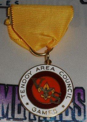 Tendoy Area Council Games Ribbon