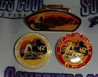 Great Salt Lake Council Pins & Neckerchief Slide