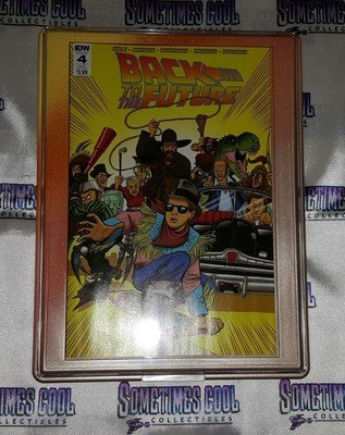 Customized Comic Frame : Back to the Future #4