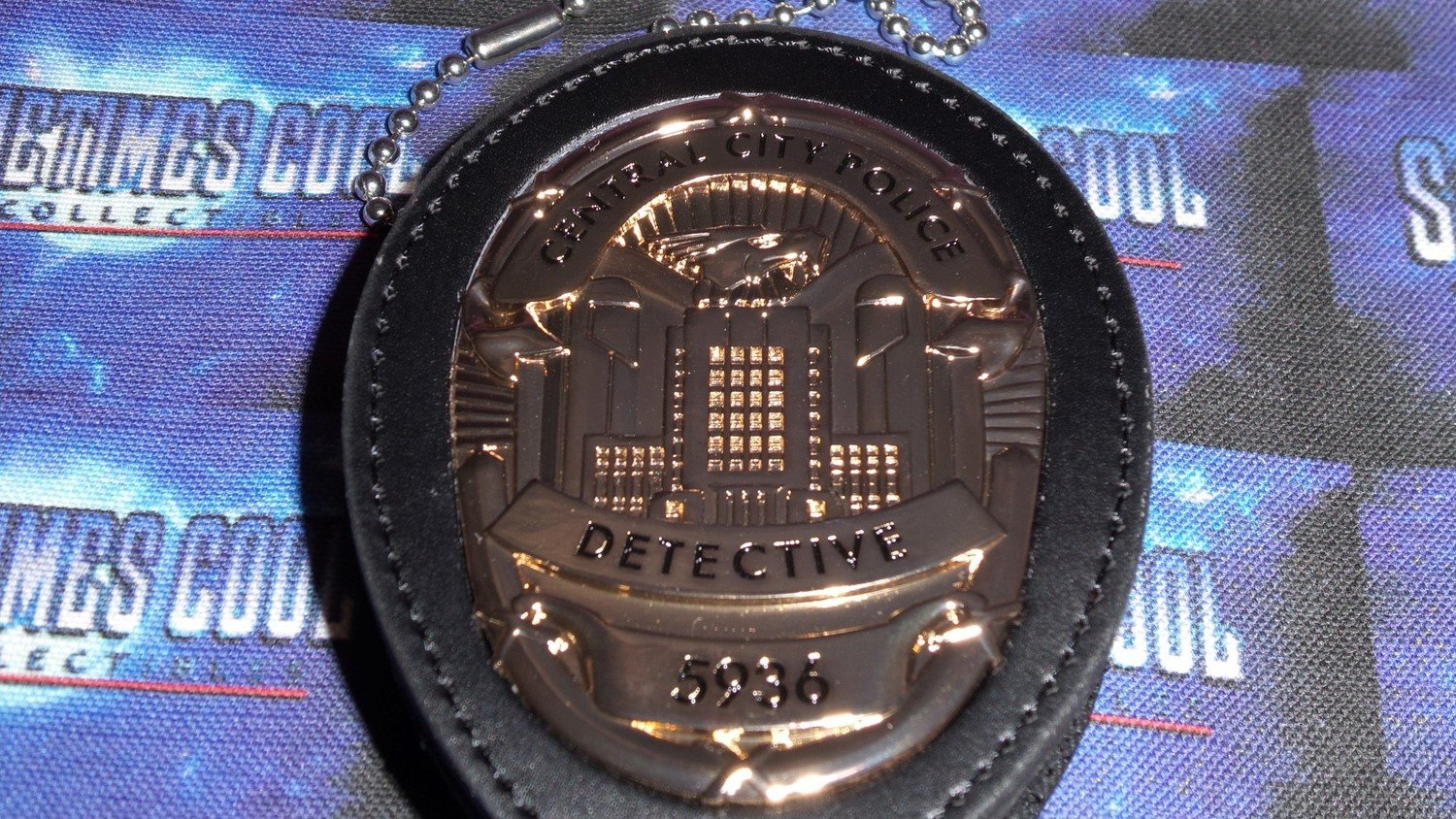 The Flash : Central City Detective Badge