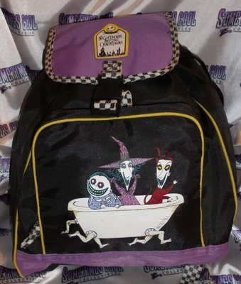 Nightmare Before Christmas : Lock, Shock, & Barrel Backpack