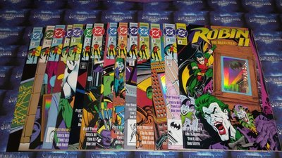 Robin II : Joker's Wild - Comic Book Set (1991)