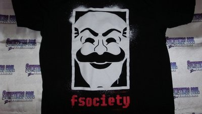 LootCrate Mr. Robot : fsociety T-Shirt : Small