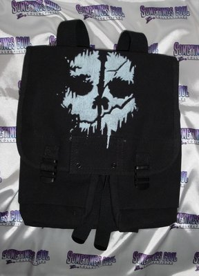 CALL of DUTY : GHOSTS - Black Musette Bag