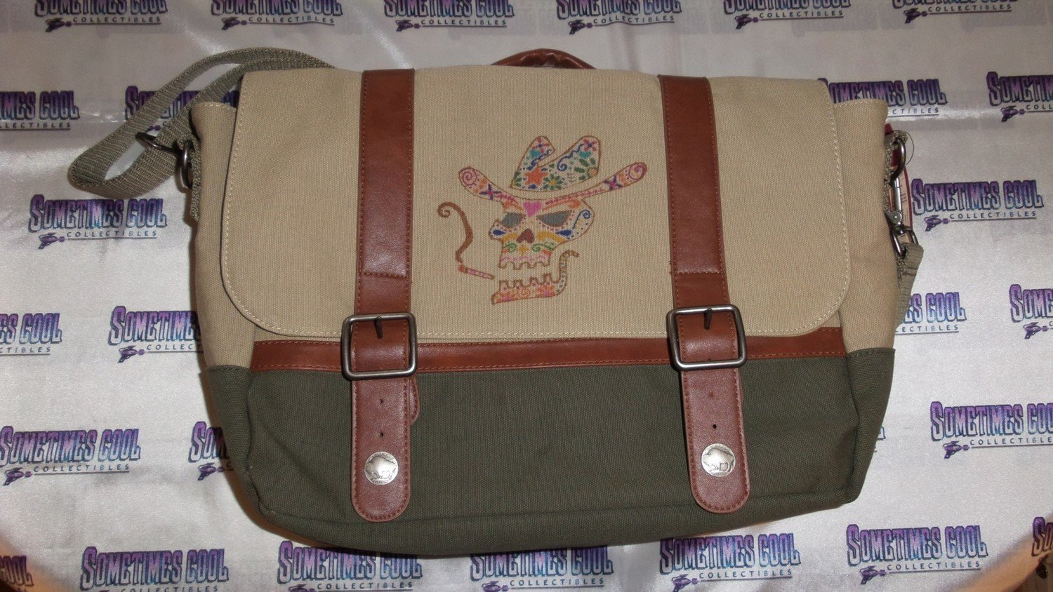 Sugar Skull Satchel