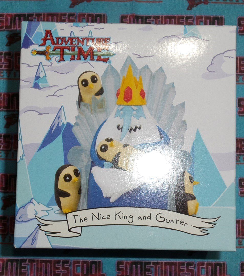 Adventure Time Loot Crate Figurine : The Nice King & Gunter