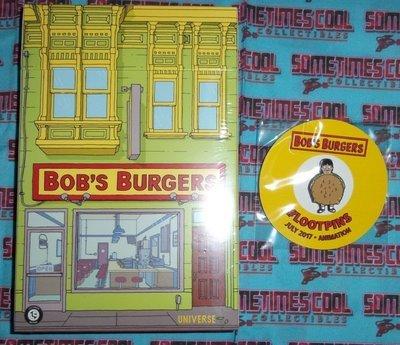 Bob's Burgers Recipe Box & Pin : LootCrate Exclusive