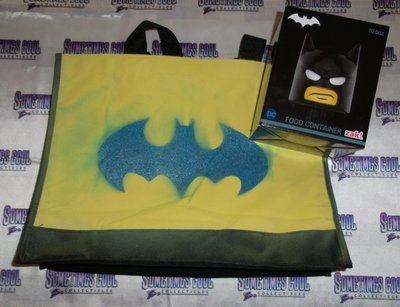 Batman Tote Bag & Food Container