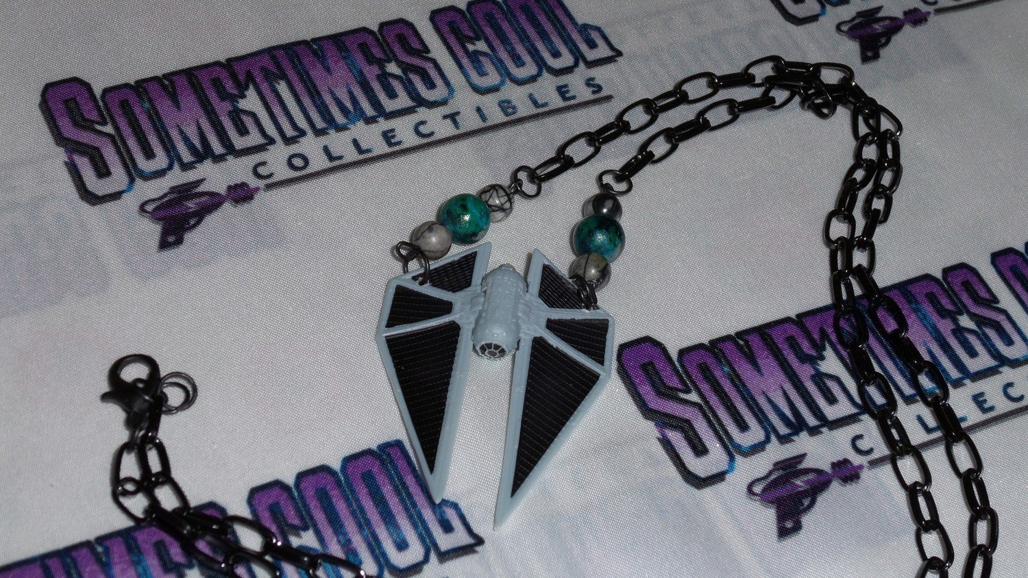 Star Wars : TIE Striker Necklace (Imperial)
