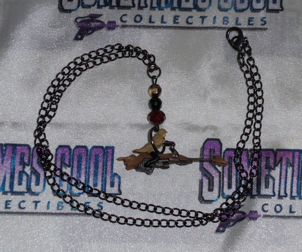 Star Wars : Luke on Speeder Bike Necklace