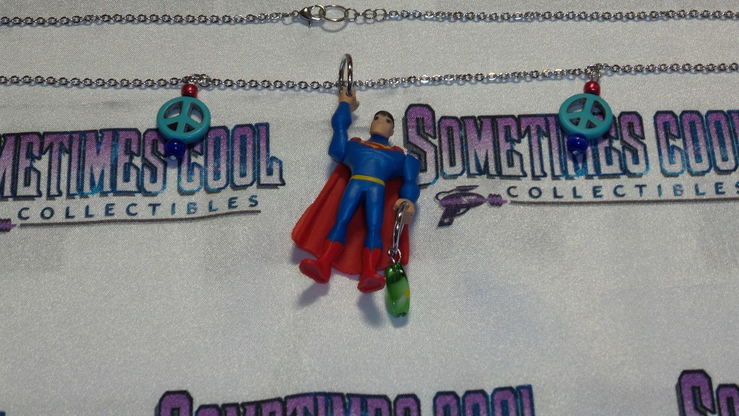 Superman Mini Figure Necklace