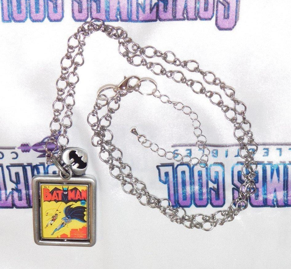 Batman Flip Cover Necklace