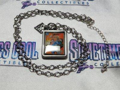 Superman Flip Cover Necklace