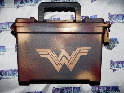 Ammo Box Customized - Wonder Woman Logo