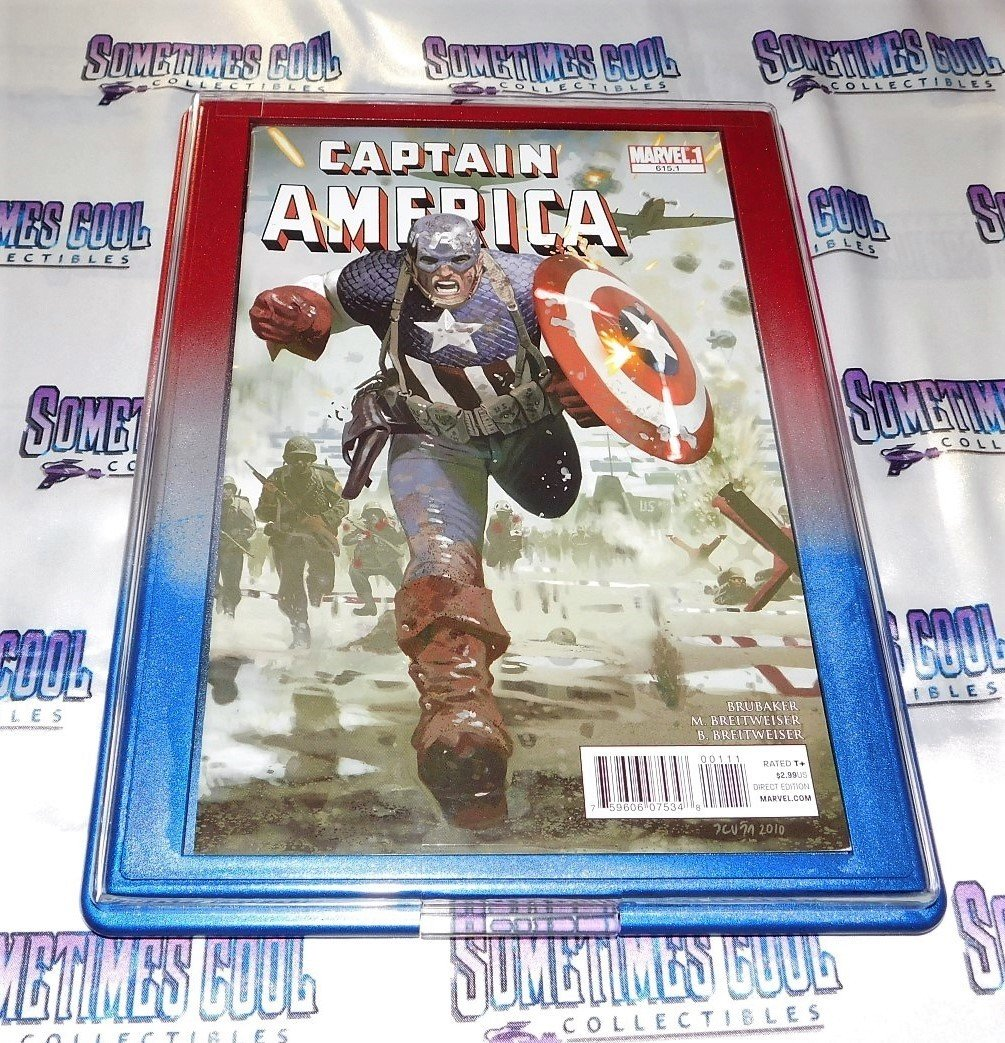 Customized Comic Frame : Captain America #615.1
