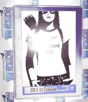Customized Comic Frame : Hawkeye #9