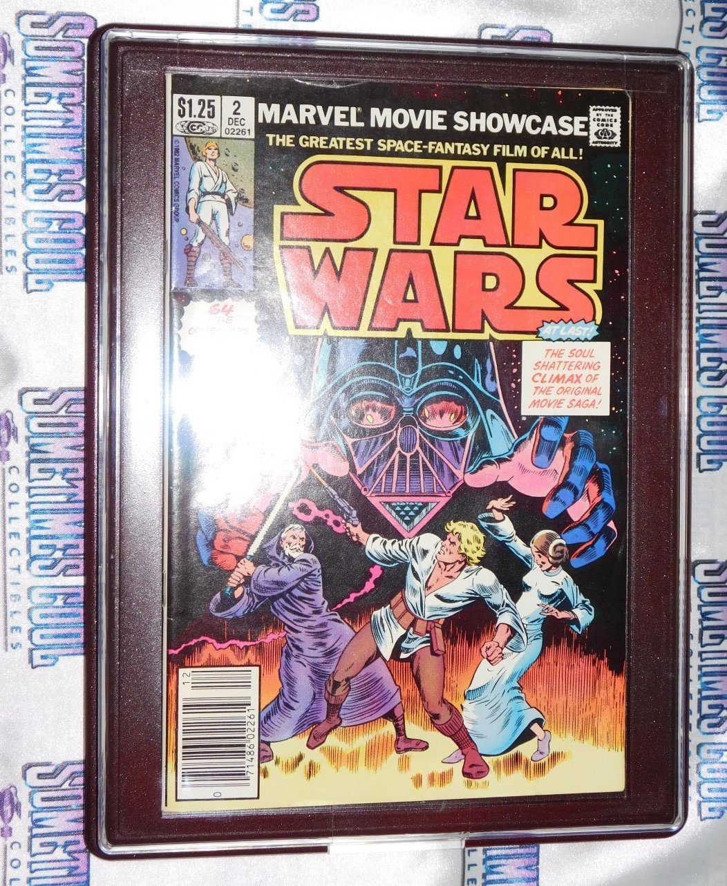 Customized Comic Frame : Marvel Movie Showcase #2 : STAR WARS