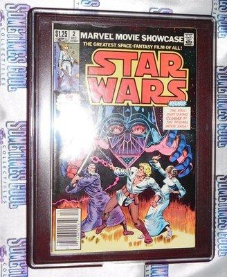 Customized Comic Frame : Marvel Movie Showcase #2 : STAR WARS