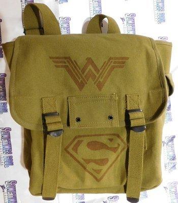 Justice League - Olive Drab Musette Bag
