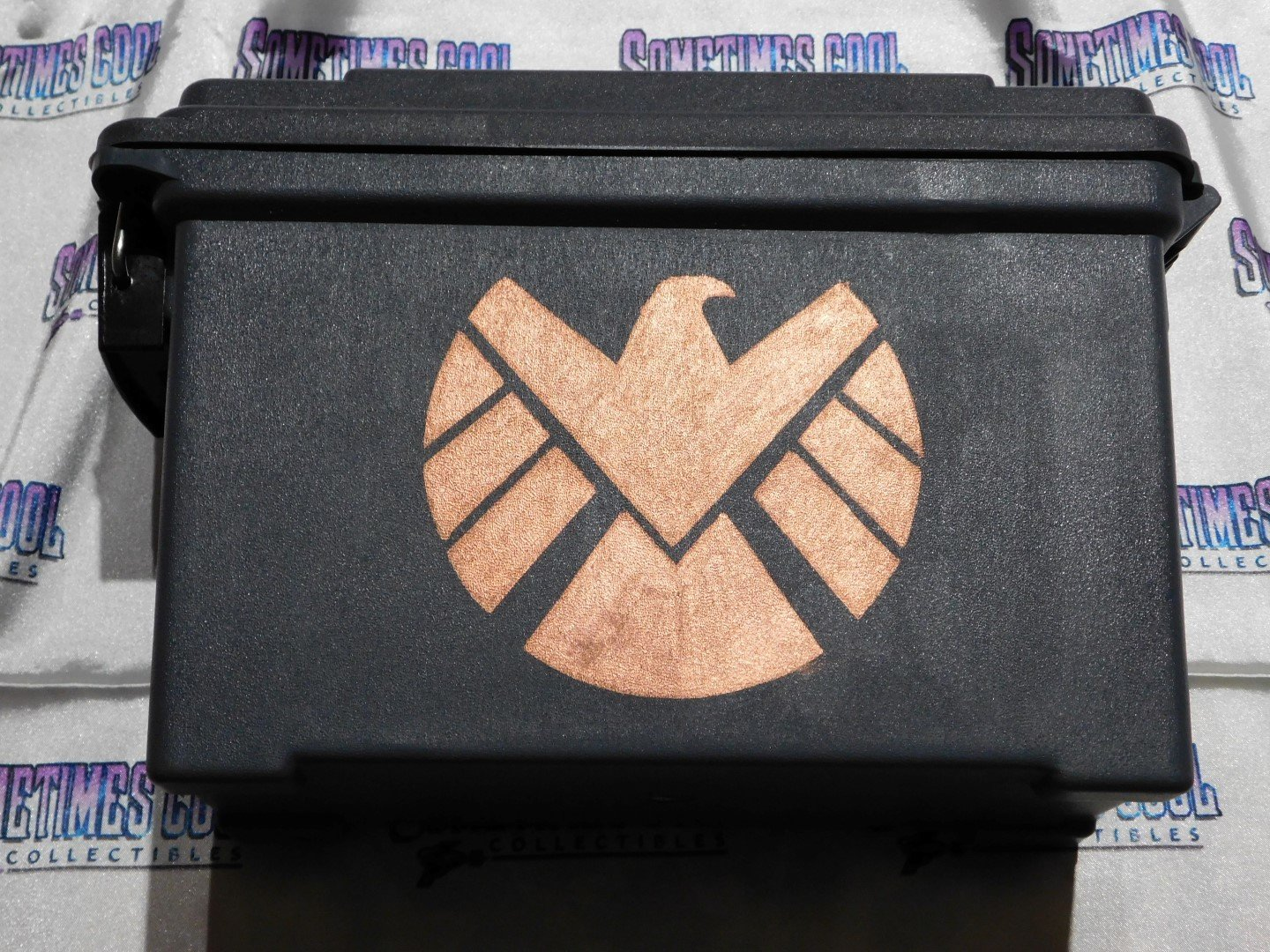Ammo Box Customized - S.H.I.E.L.D logo (copper)
