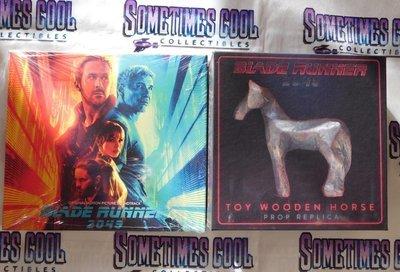 Blade Runner 2049 : Limited Ed. Soundtrack & Horse Figurine