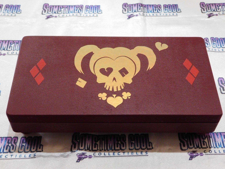 Harley Quinn Suicide Skull Trinket Box