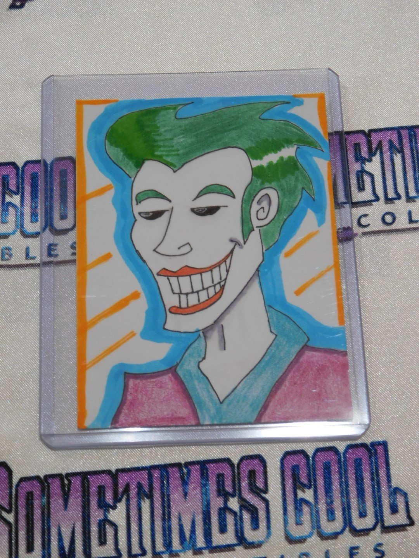 Joker Sketch Card