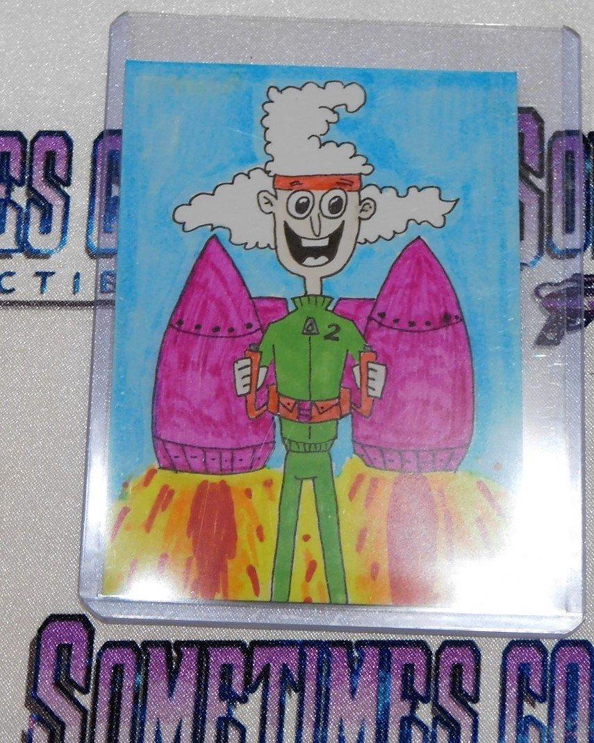 Second Santa Sketch Card - Teen Titans Go!