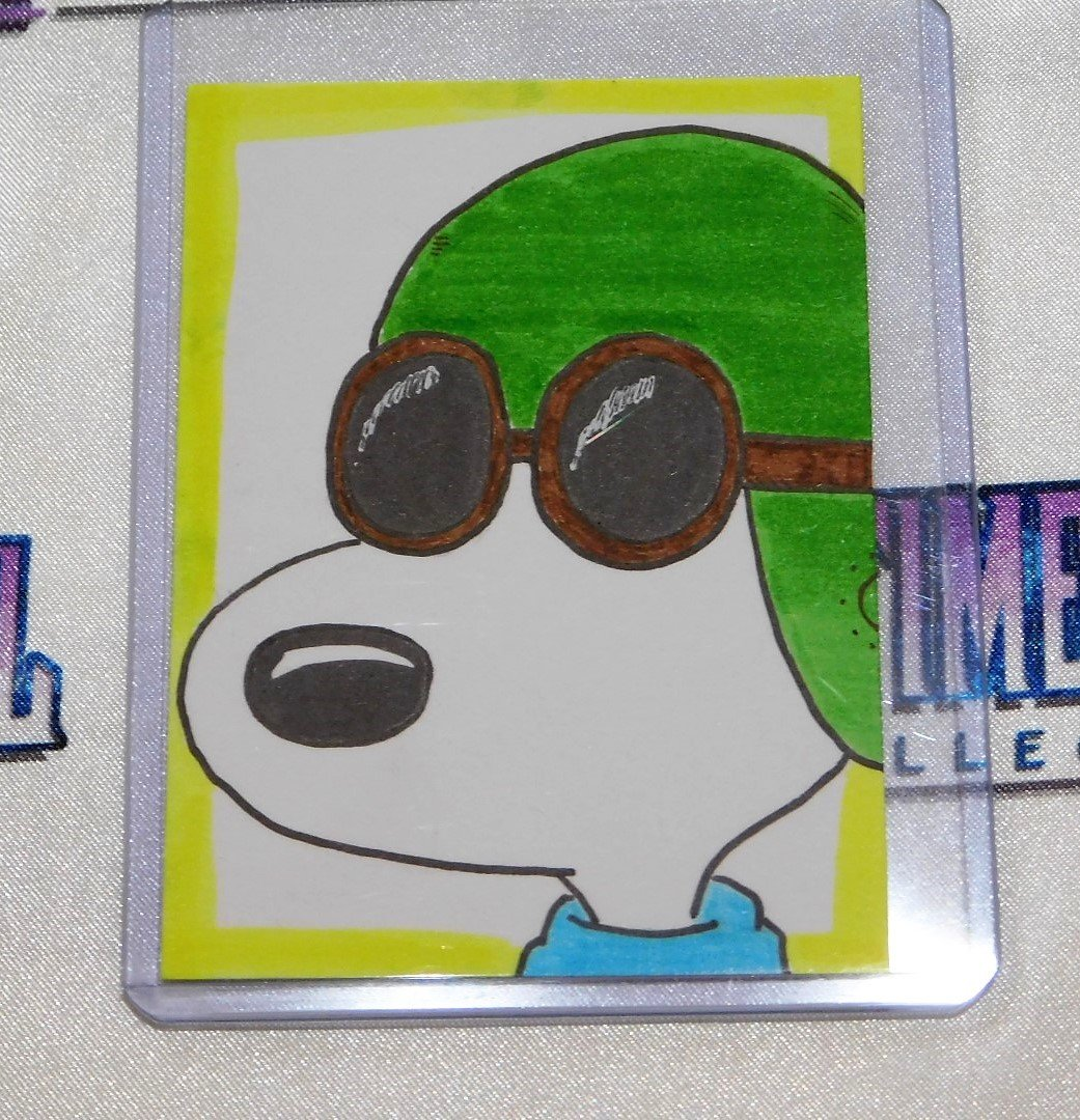 "Snoopy ""Flying Ace"" Sketch Card"