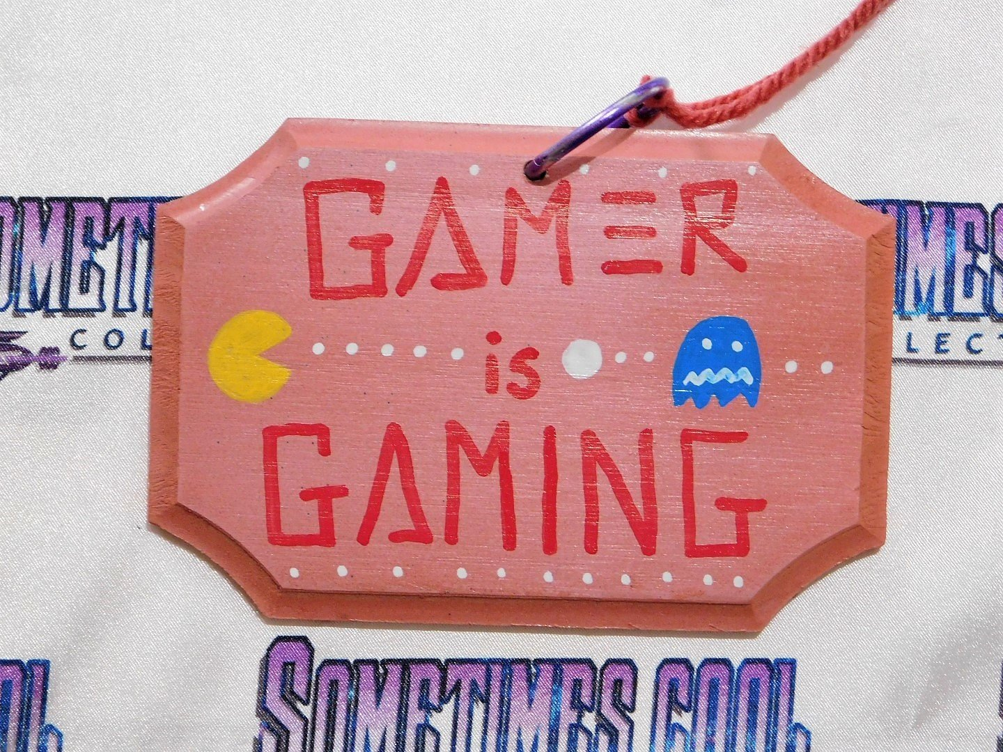 Mini Sign : Gamer is Gaming/Student is Studying