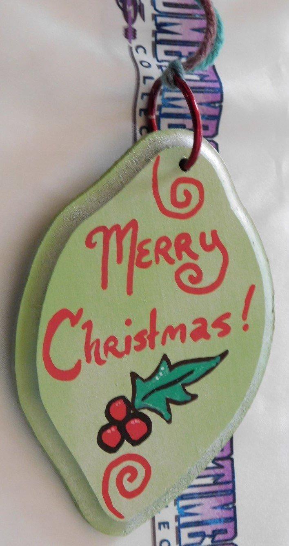 Mini Sign : Merry Christmas/Bah Humbug