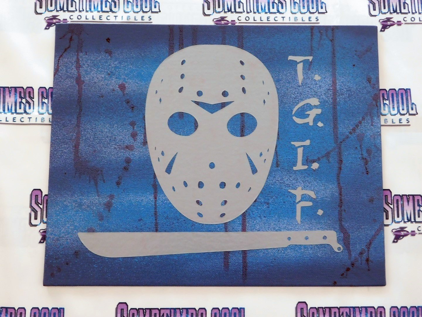 """""""T.G.I.F."""" - Voorhees Style Painting"""