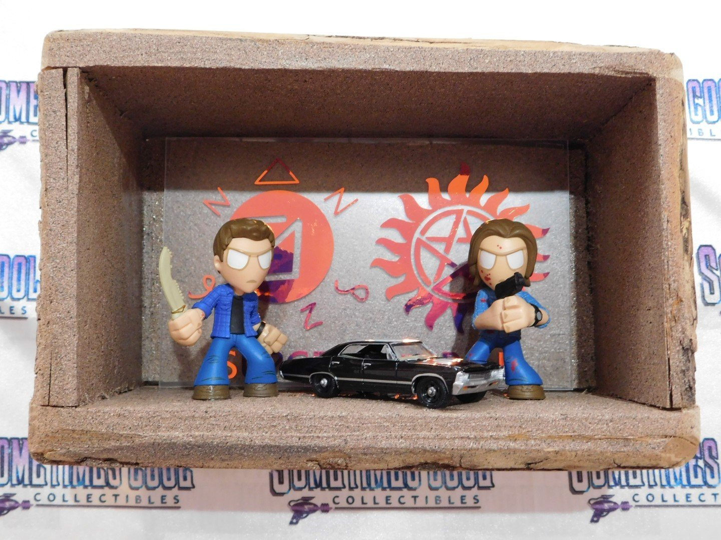 Supernatural : Winchester Brothers Diorama