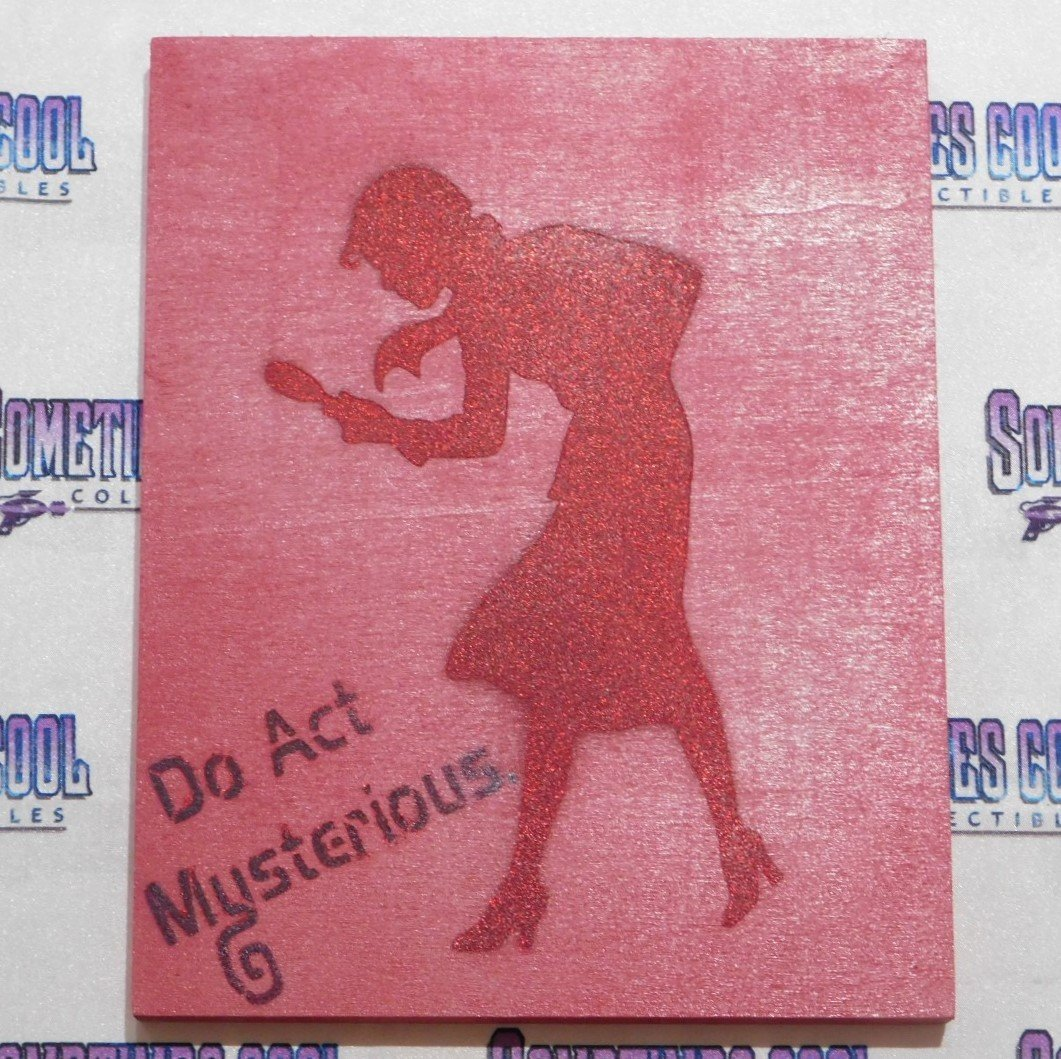 "Nancy Drew : 8"" x 10"" Painting"