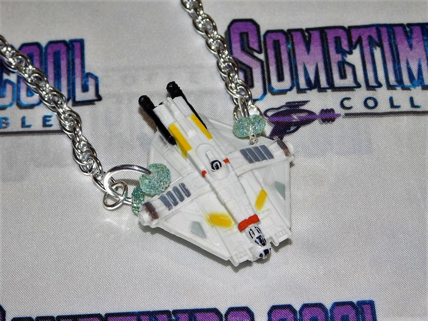 "Star Wars : The ""Ghost"" Ship Necklace"