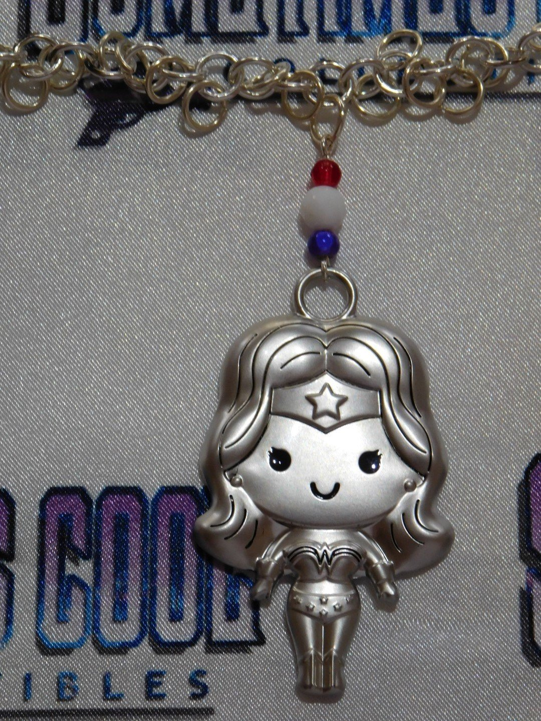 Wonder Woman Chibi Necklace
