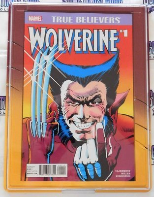 Customized Comic Frame : Wolverine #1