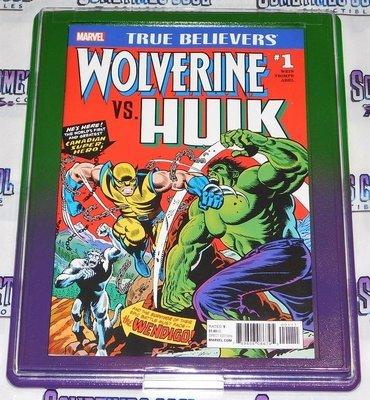 Customized Comic Frame : Wolverine VS. Hulk #181