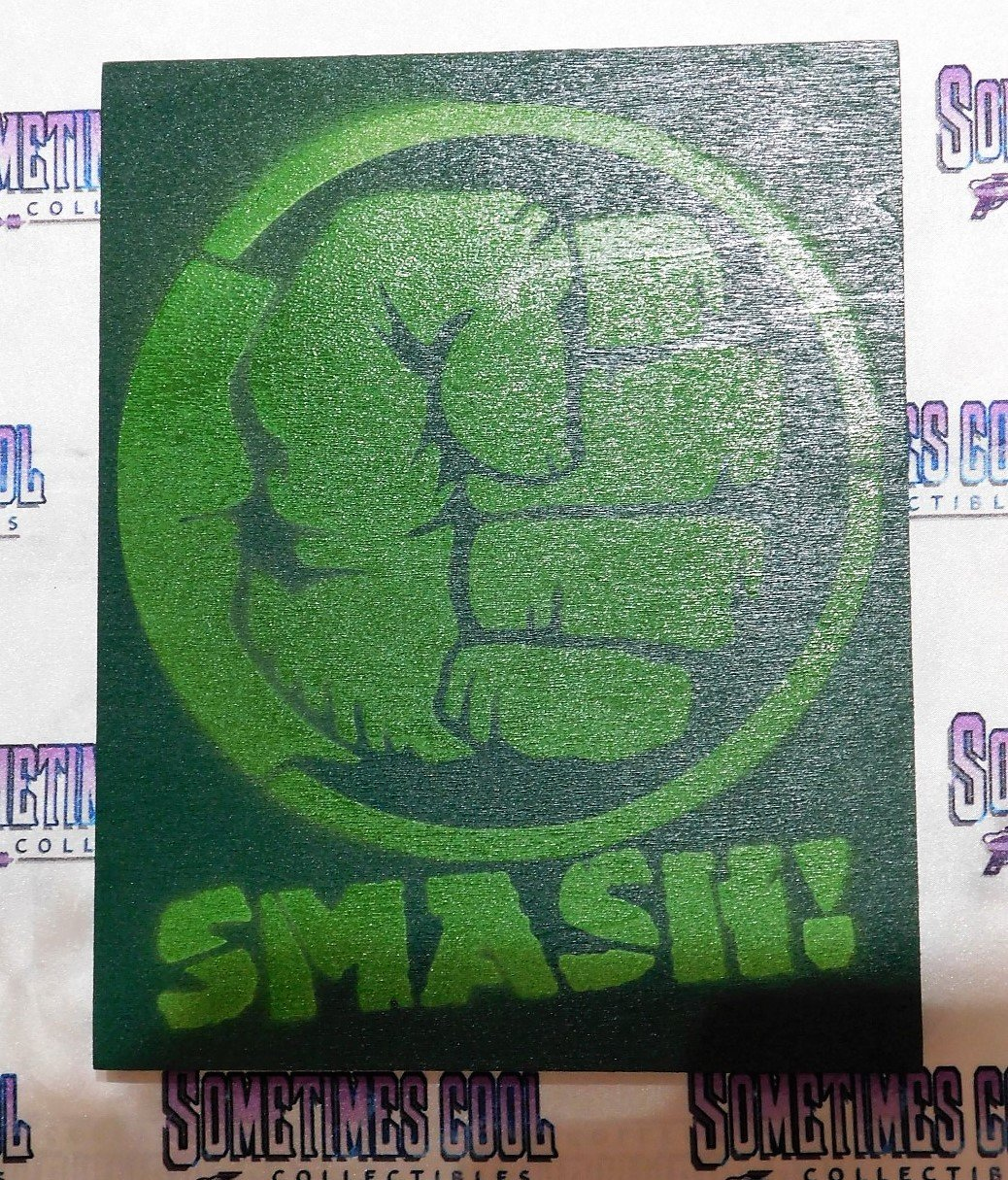"""Hulk Smash"" Painting"