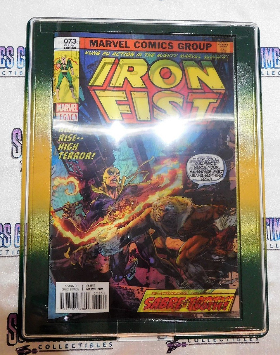 Customized Comic Frame : Iron Fist #73 (Lenticular Cover)